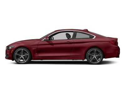 2018 BMW 4-Series 430i xDrive 430i xDrive 4 Series 2 dr Coupe Automatic Gasoline 2.0L 4 Cyl Melbourne Red Meta