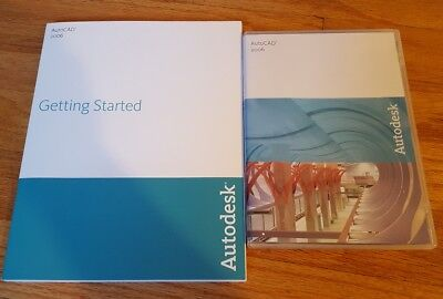 Autodesk AutoCAD 2006 Software CD plus User Guide