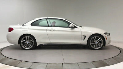 2018 BMW 4-Series 430i 430i 4 Series New 2 dr Convertible Automatic Gasoline 2.0L 4 Cyl Alpine White