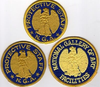 NATIONAL GALLERY of ART FACILITIES POLICE PATCHES