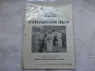 """Pit Bull  Convention issue of  """"Your Friend and Mine"""" May 1960"""