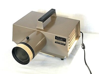 VTG SEERITE 400 WATT 6 X 6 Opaque Projector Made In USA  Copy Enlarge VGC w/BOX