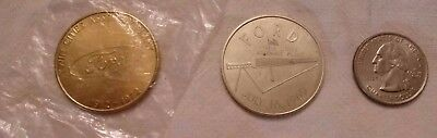 Twin Cities Ford Assembly Plant Tokens from 1969 and 1972