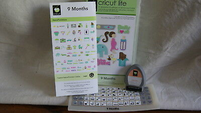 Cricut Cartridge - 9 MONTHS - Never Used - SEALED CARTRIDGE! Not linked