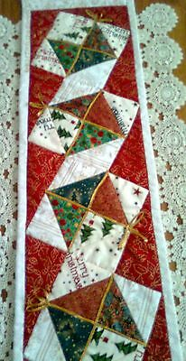 Table / Bed Runner PATTERN patchwork quilting make for Christmas