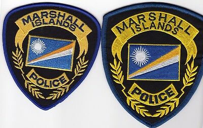 MARSHALL ISLANDS POLICE patches