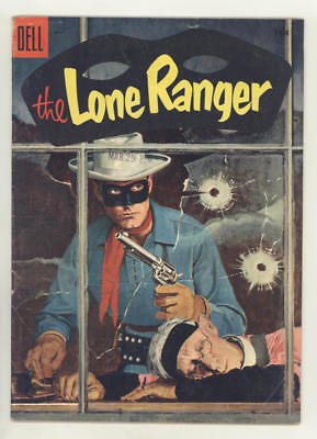 May 1955 THE LONE RANGER #83 comic with great HANK HARTMAN PAINTED COVER. Nice