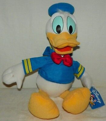 Walt Disney Donald Duck  Plush Toy Stuffed Animal 16 Inches Tall Toy Factory