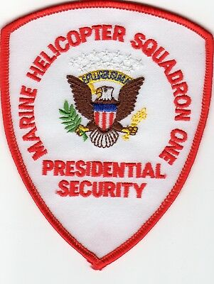 MARINE HELICOPTER PRESIDENTIAL SECURITY patch