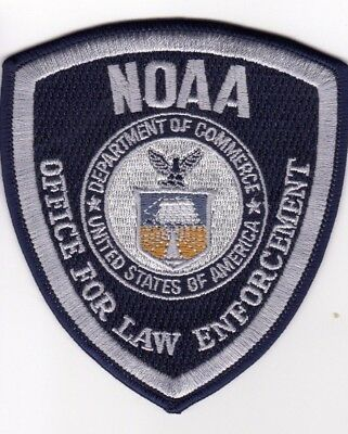 NOAA Department of COMMERCE POLICE Patch