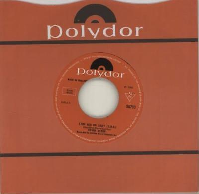 """Edwin Starr Stop Her On Sight (S.O.S.) - Wide 7"""" vinyl single record UK 56753"""