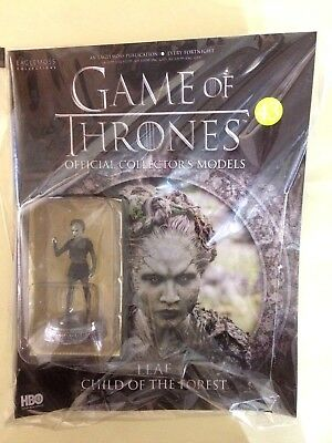 Game of Thrones Official Collectors Models # 43 LEAF CHILD OF THE FOREST