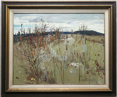 George Lorne Holland Bouchard RCA (1913-1978) Canadian Oil/B Quebec Landscape