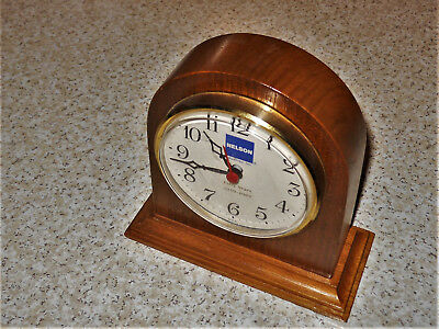 Nelson Muffler Industries Fifty Years 1939-1989 5 Inch Advertising Clock
