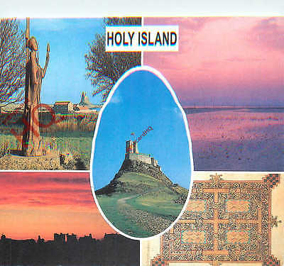 Picture Postcard- Holy Island (Multiview)