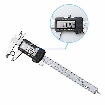 Digital Electronic Gauge Stainless Steel Vernier 150mm 6-inch Caliper Micrometer