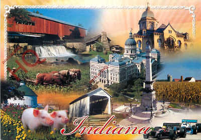 Picture Postcard; Indiana