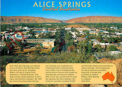 Picture Postcard~ Alice Springs