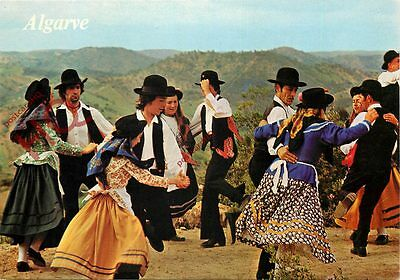 Picture Postcard~ Algarve, Traditional Dancing