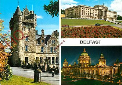 Picture Postcard-:Belfast (Multiview)