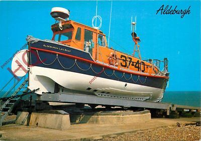 Picture Postcard:;The Lifeboat, Aldeburgh