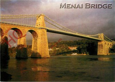Picture Postcard:;The Menai Bridge