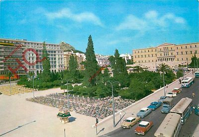 Picture Postcard~ Athens, Constitution Square, Syntagma