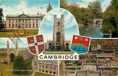 Picture Postcard~ Cambridge (Multiview)