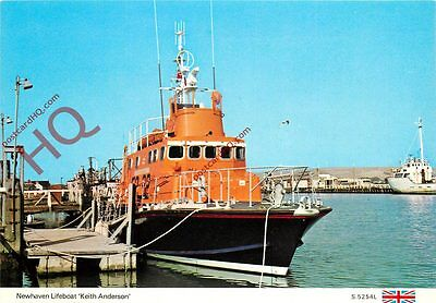"""Picture Postcard::Newhaven Lifeboat """"Keith Anderson"""""""