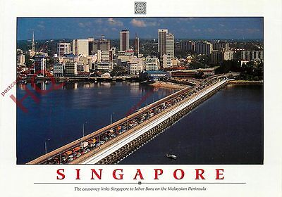 Picture Postcard, Singapore Causeway