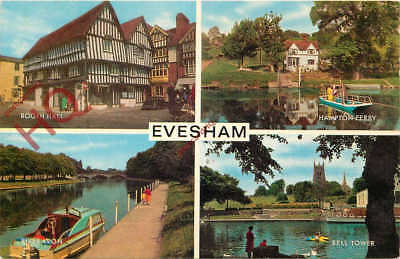 Picture Postcard, Evesham (Multiview) [Salmon]
