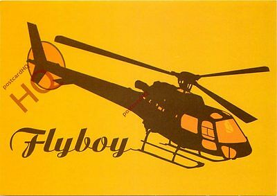 Picture Postcard: HELICOPTER, FLYBOY