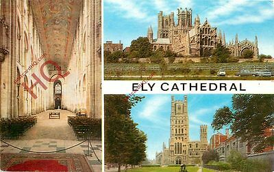 Picture Postcard::Ely Cathedral (Multiview)