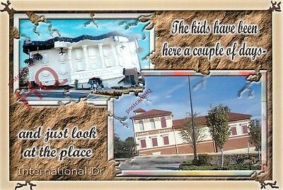 Picture Postcard-:Orlando, Wonderworks And Ripley's Believe It Or Not