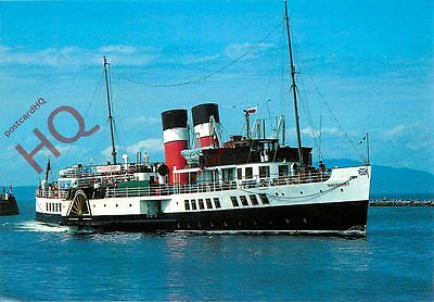 Picture Postcard:-PADDLE STEAMER WAVERLEY