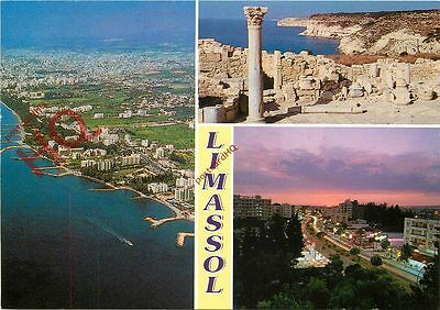 Picture Postcard:;Cyprus, Limassol (Multiview)