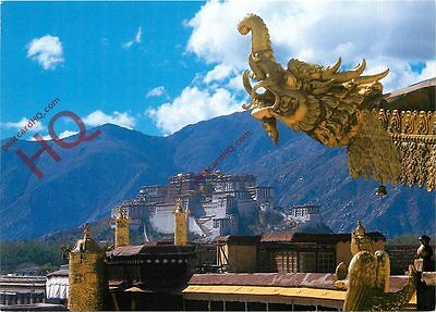 Picture Postcard:-Jokhang Temple And Potala Palace