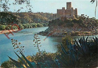 Picture Postcard; Almourol Castle, Portugal