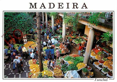 Picture Postcard-:Madeira, Funchal, City Market