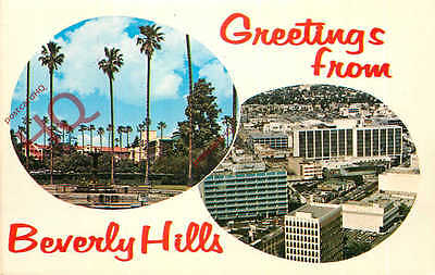 Picture Postcard--Beverly Hills