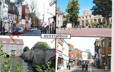 Picture Postcard--Huntingdon (Multiview) 2
