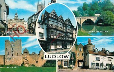 Picture Postcard--Ludlow (Multiview) [Salmon]