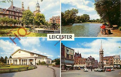 Picture Postcard--Leicester (Multiview)