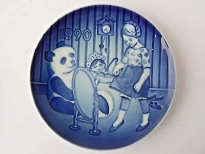 "Hard to Find Bing & Grondahl Children's Day Plate - 1990 ""My Favourite Dress"""