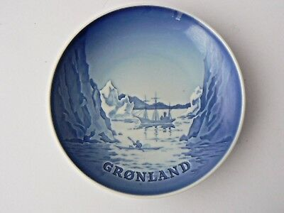 "Bing & Grondahl Decorative Plate - ""Arctic Greenland"""