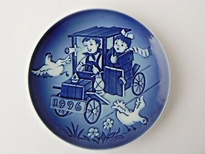 "Hard to Find Bing & Grondahl Children's Day Plate - 1996 ""The Little Racers"""