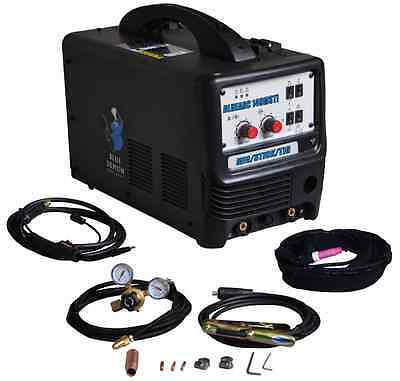 welding machine multiprocess Blue Arc 140MSTI MIG Stick TIG free shipping