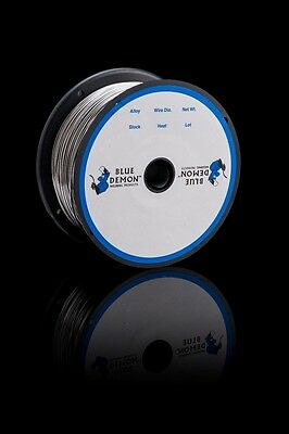 E71T-11 .030 X 2 lb MIG Flux Core Welding Wire Spool Blue Demon