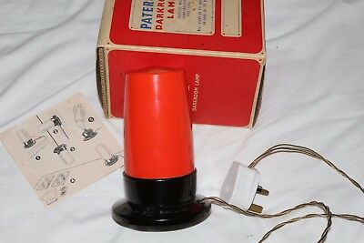 Paterson Darkroom Safelamp   Boxed