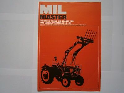 BMC Nuffield 3/45 4/65 10/42 10/60 3/42 4/60 4/25 Mini tractor brochure leaflet